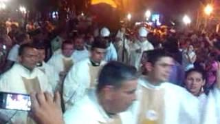 Visita a Socopó del Nuncio Apostolico el Italiano Aldo Giordano