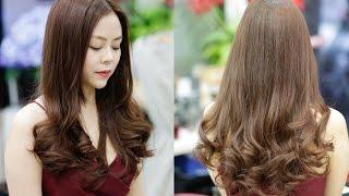Top 100 Các kiểu tóc uốn đuôi đẹp, dễ thương HOT nhất hiện nay