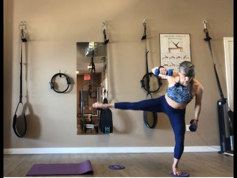 Athletic Glider and Weight Pilates Class with master trainer Fiona Hermanutz