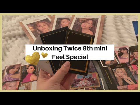 a SUPER lucky unboxing of Twice's Feel Special