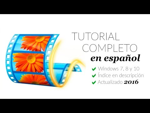 Movie Maker Tutorial Completo 2016 ESPAÑOL