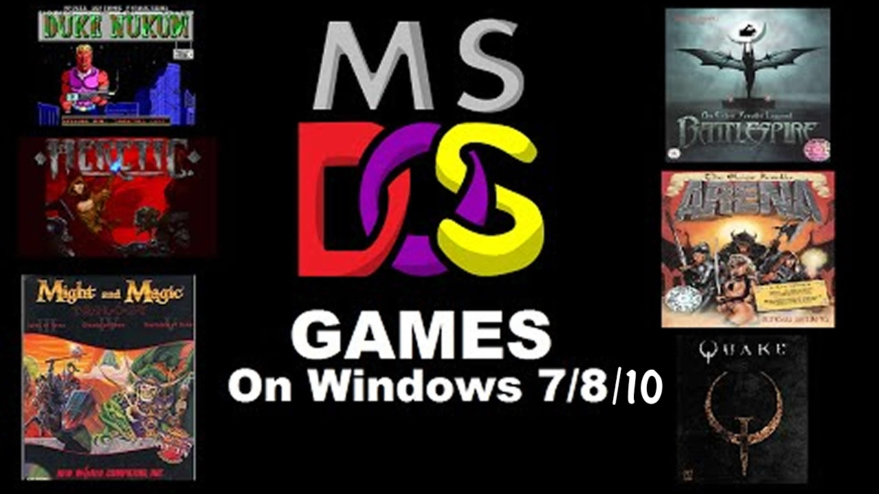 Using Dosbox on Your PC - Playing Retro Dos Games on Windows 10