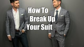 How To Wear A Suit Jacket As A Sport Coat | 2 Style Rules To Always Follow