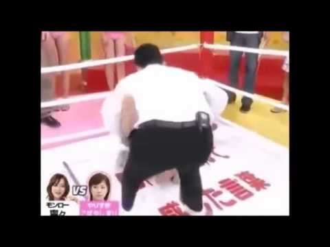 japanese game show pranks ~ Fighting   Maria Ozawa   Japan AV idol