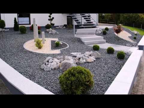 Gartengestaltung Mit Kies