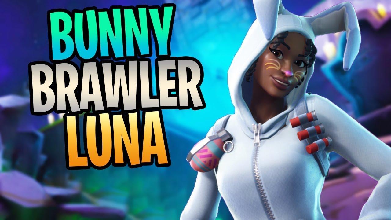 Fortnite new bunny brawler luna shockwave soldier save the world gameplay youtube - Fortnite bunny brawler ...