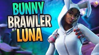 FORTNITE - New BUNNY BRAWLER LUNA Shockwave Soldier Save The World Gameplay