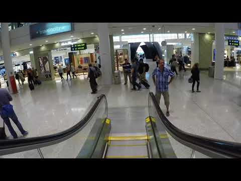 Toronto Pearson International Airport - YYZ - Terminal 1 - Video Tour - Arrival,Gates,Duty Free