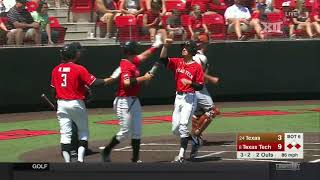 Texas vs. Texas Tech Baseball Highlights - May 5
