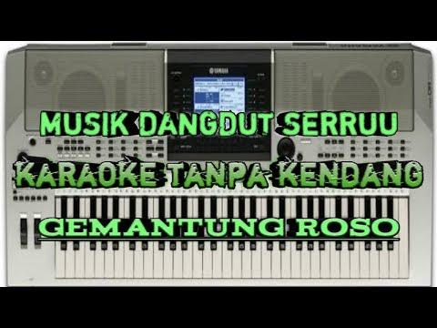 Gemantung roso karaoke yamaha PSR TANPA KENDANG