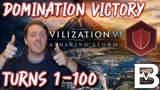 How to Win a Domination Victory In Civilization 6 - Turns 1-100