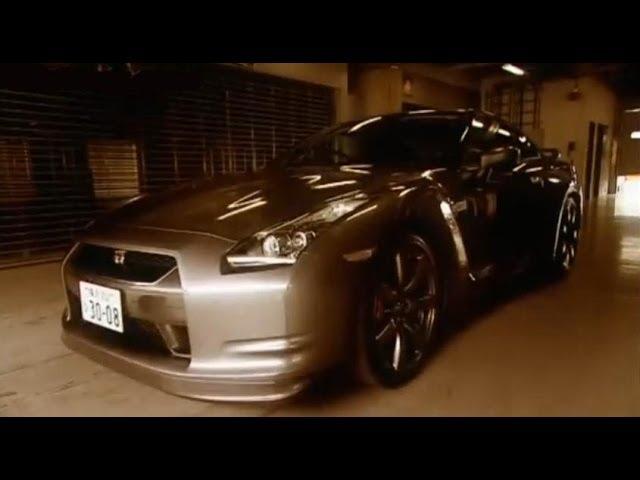Nissan GTR Car Review - Top Gear - BBC