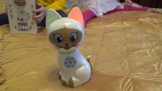 Кошка Соня//Смотрим новую игрушку и дурачимся!!!