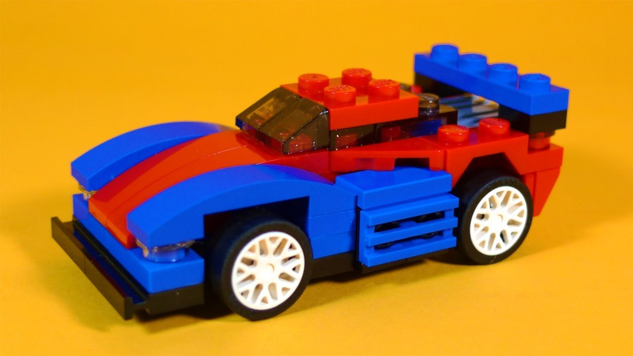 how to build lego speeder car lego creator 31000 youtube. Black Bedroom Furniture Sets. Home Design Ideas