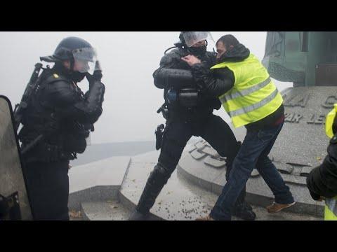 احتجاجات -السترات الصفراء- .. الشرطة الفرنسية في إضراب الأربعاء!  - 14:56-2018 / 12 / 18