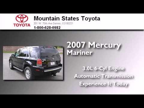 2007 Mercury Mariner Denver CO 80221