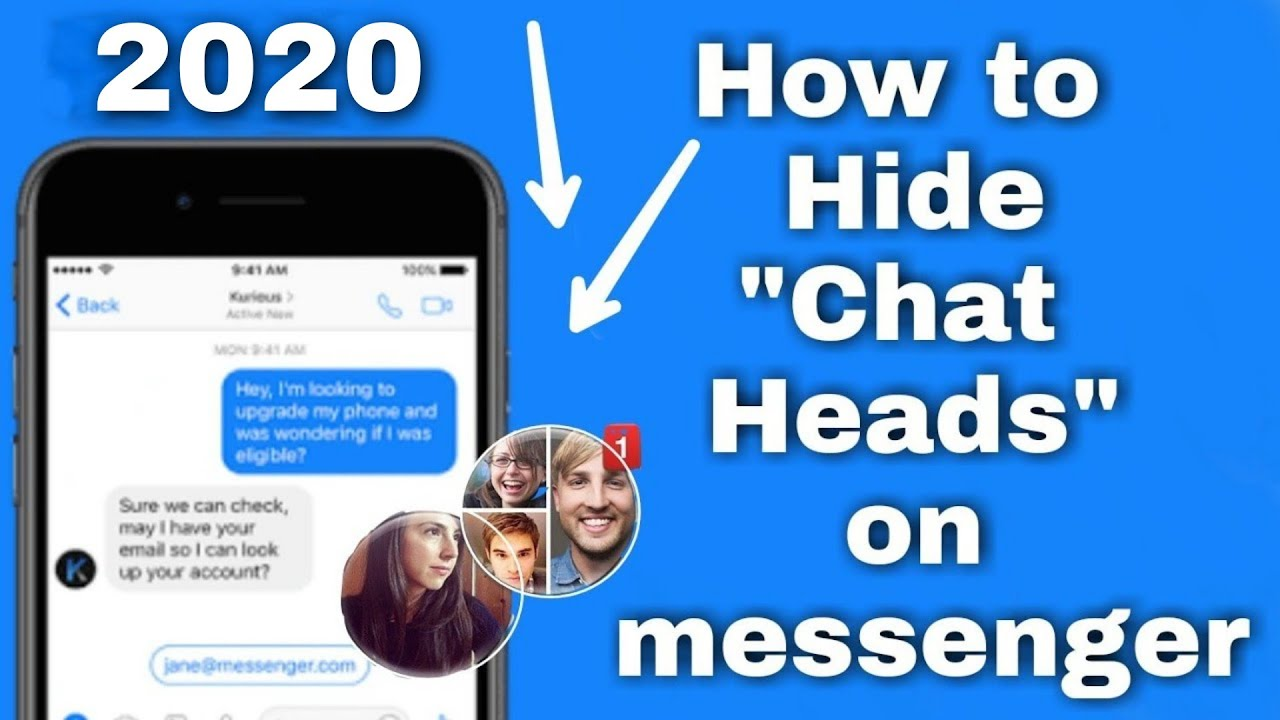 How to hide chat heads in facebook messenger 2019: disable chat heads on  messenger