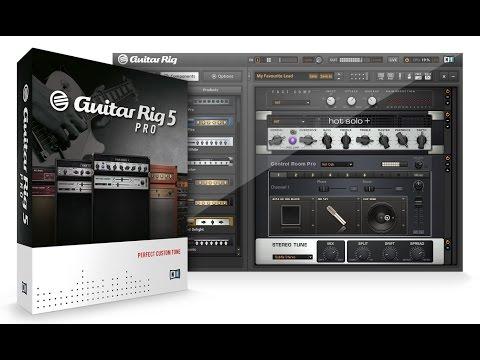 Guitar Rig 5 Pro: как скачать и установить гитарный процессор