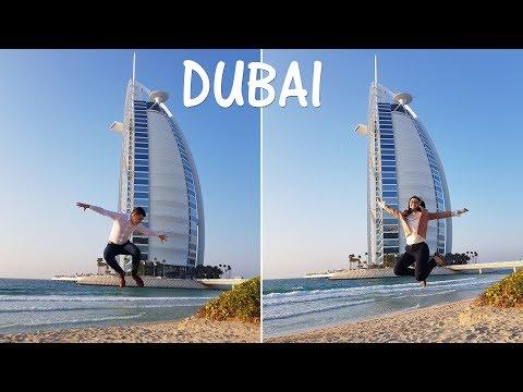 Visit Dubai 2018 – Burj Al Arab, Dubai Frame, Burj Khalifa, Kite Beach