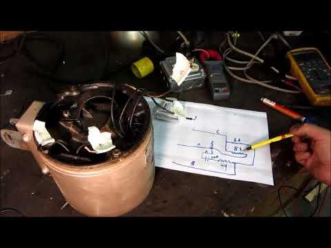 vintage hunter pedestal fan motor exploded capacitor determinevintage hunter pedestal fan motor exploded capacitor determine wiring