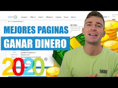 Mejores Páginas Para GANAR DINERO Por INTERNET 2020   Así Cobro