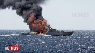 Brutal Attack (Jul 31,2021) Danish Navy intercept IRANIAN Warships on Baltic Sea
