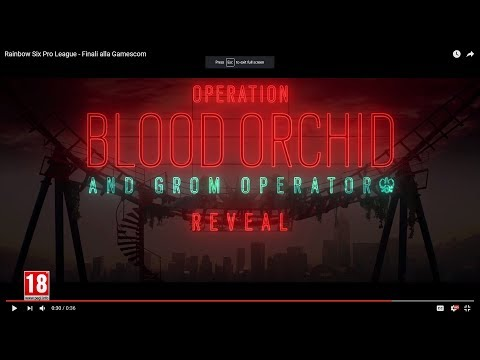 Rainbow Six OPERATION BLOOD ORCHID and GROM OPERATION, HONG KONG OPERATORS REVEAL