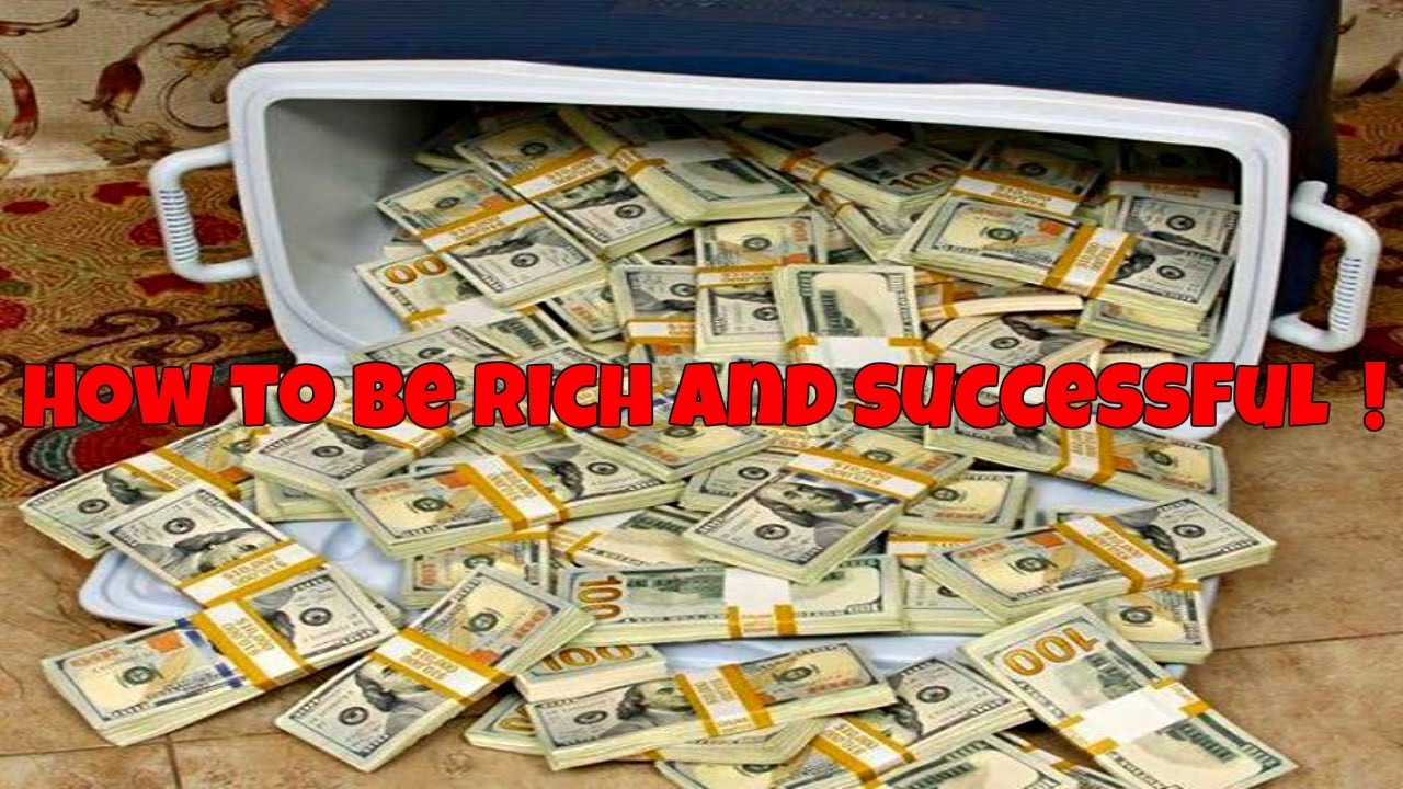 how to be rich and successful pdf