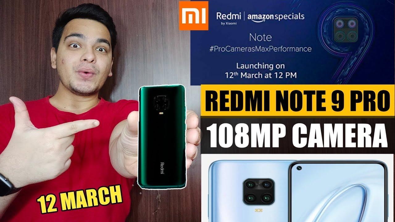 Redmi Note 9 Pro 108MP Camera | Redmi Note 9 Pro First Look | Redmi Note 9 Pro Vs Realme 6 Pro