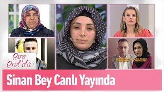 Burcu'nun eşi Sinan bey canlı yayında - Esra Erol'da 26 Mart 2019