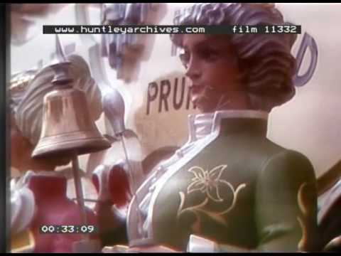 Animated Figurines In Holland, 1970s - Film 11332