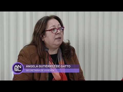 Ángela Gutiérrez de Gatto y Federico Pereyra - Secretaría de Vivienda