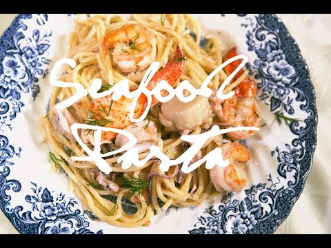 Seafood Pasta With Cream Sauce