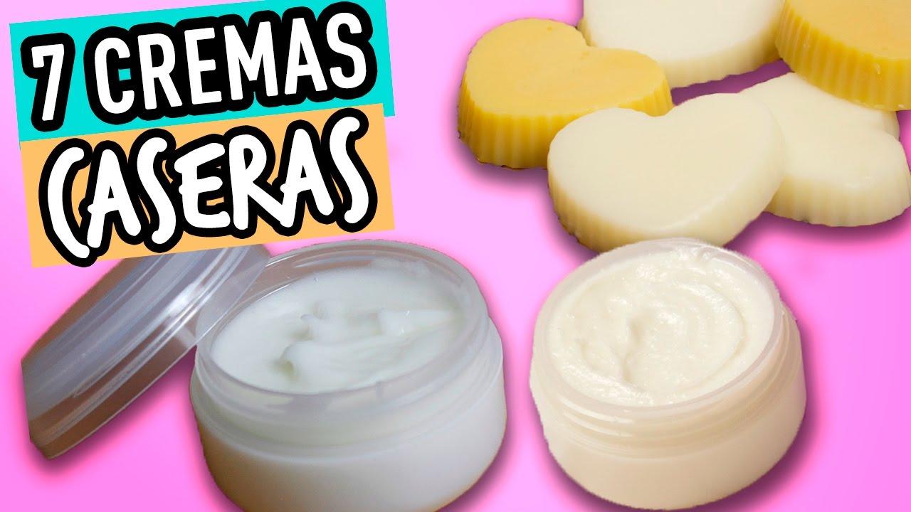 como hacer crema para la cara natural