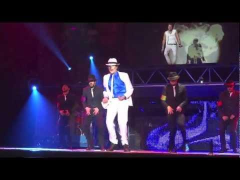 FOREVER King Of Pop MJ - Smooth Criminal (Bratislava 28.3.2012)