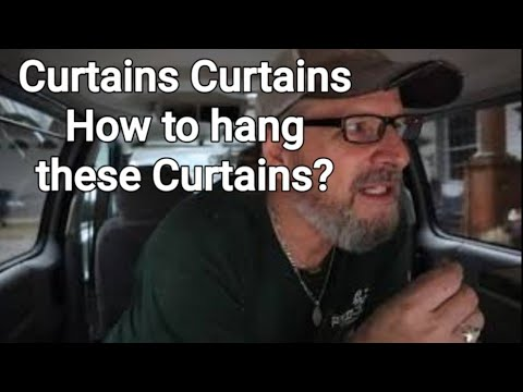 Pontiac Montana Custom Curtain Installation DIY