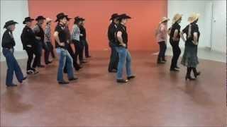 COASTIN Line Dance, irlandaise