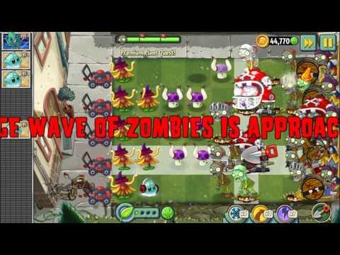 Растения против Зомби 2 Epic Qest: Premium Seeds - Witch Hazel! (step 1-10) + квесты