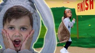 видео Кто победит в гонке между зайцем и черепахой