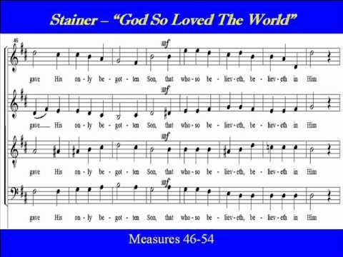 Stainer-God So Loved-Tenor-Score.wmv