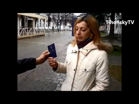 Ukraine War - Journalist on voting frauds at the illegal referendum in Crimea Ukraine