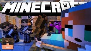 Minecraft Murder FAKE Iron Sword TROLLING! (Minecraft Murder Mystery)