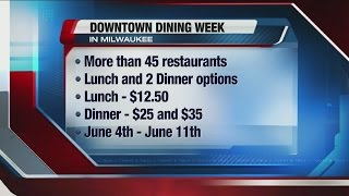 Downtown Dining Week kicks off Thursday