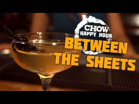 Make A Strong, Spirited Cocktail to Make Amends - CHOW Happy Hour Snapshots
