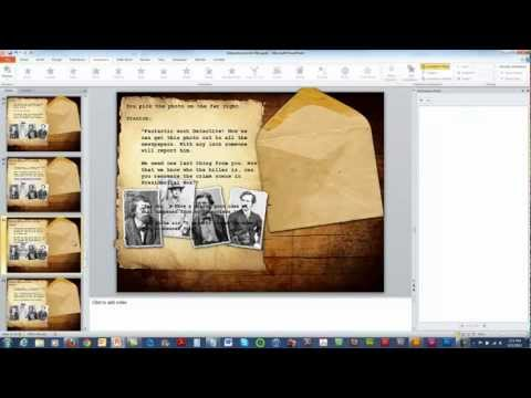 Creating Interactive Scenarios with PowerPoint