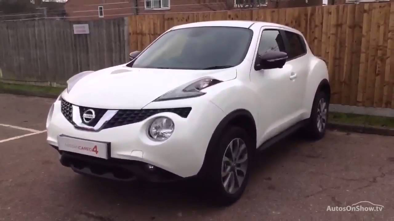 nissan juke tekna dig t white 2015 youtube. Black Bedroom Furniture Sets. Home Design Ideas