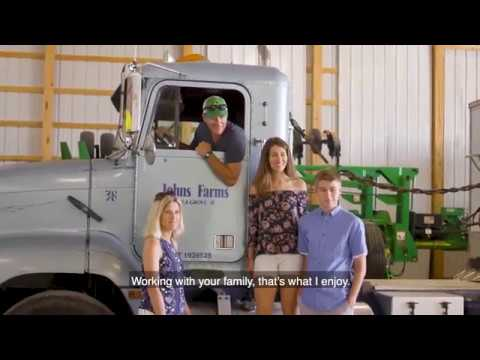 #HEREStotheFARMER: Atkins Farms + Johns Family Farms in Illinois