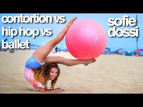 Contortion vs HipHop vs Ballet (Sofie Dossi, Matt Steffanina