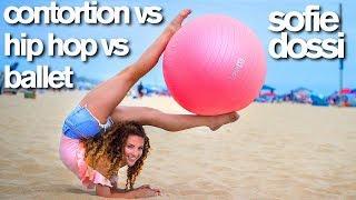 Download Contortion vs HipHop vs Ballet (Sofie Dossi, Matt Steffanina, Kylie Shea) Mp3 and Videos