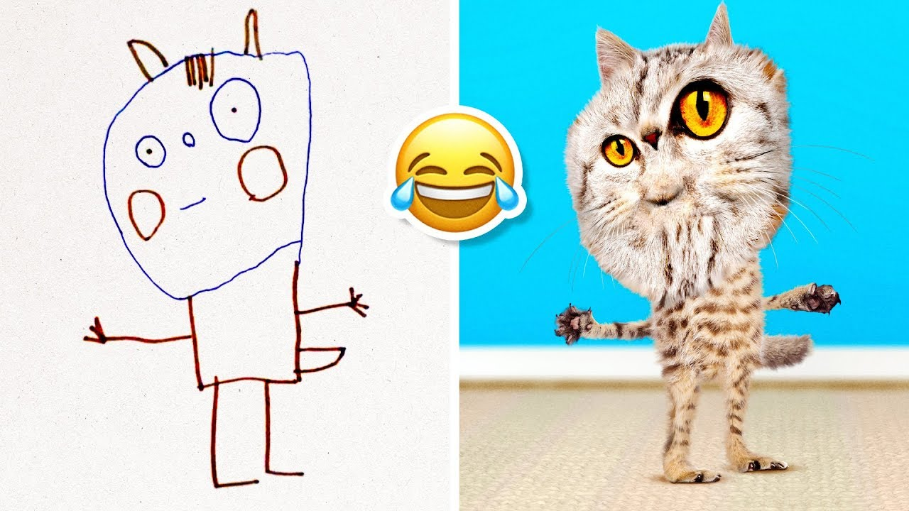 We Made Kids Drawings Come To Life The Result Is Hilarious Youtube